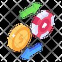 Casino Exchange Icon