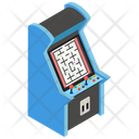 Arcade Game Indoor Game Coin Game Icon