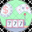 Casino Game Slot Icon