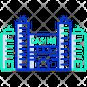 Casino Hotel Icon