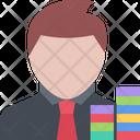 Casino Player Icon Vector Icon