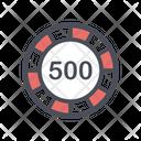 Casino Ship Poker Card Icon