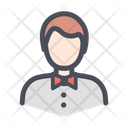 Casino Staff Server Bellboy Icon