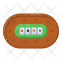Casino Table Game Poker Table Poker Game Icon