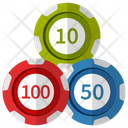 Casino Token Icon
