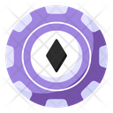 Casino Coin Casino Token Poker Chip Icon