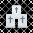 Casket Cemetry Coffin Icon