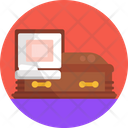 Funeral Coffin Death Icon