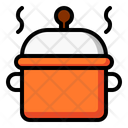 Casserole Saucepan Cookware Icon
