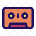 Tape Cassette Music Icon
