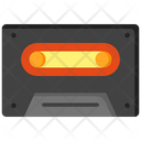 Cassette Boombox Cassette Old Music Disk Icon
