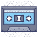 Audiotape Cassette Music Icon