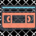 Mvhs Tape Cassette Tape Icon