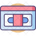 Mvhs Tape Cassette Tape Icon