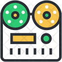 Cassette Player Recorder Icon