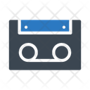 Tape Cassette Audio Icon