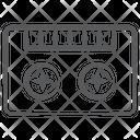 Audio Cassette Cassette Music Device Icon