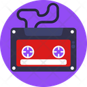 Music Cassette Instrument Icon