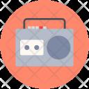 Cassette Radio Stereo Icon