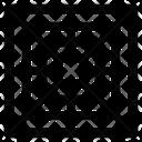 Cassette Ac Ceiling Ac Ac Unit Icon
