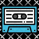 Cassette Tape Music Icon
