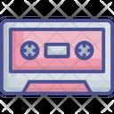 Audio Device Cassette Cassette Tape Icon