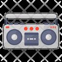 Cassette Tape Audio Tape Recording Device Icon
