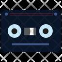 Cassette Tape Black Icon