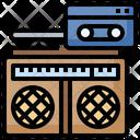 Cassettes Transmission Cassettes Antenna Icon