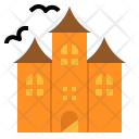 Castle Dark Halloween Icon