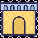 Castle Archway Doorway Icon
