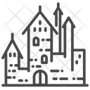 Castle Palace Hohenzollern Icon