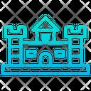 Sand Castle Circus Building Icon
