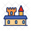 Vacation Sand Building Icon