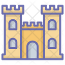 Castle Palace Fortress Icon