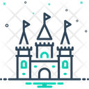 Castle Land Fort Icon