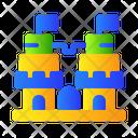 Castle Lego Toys Icon