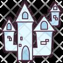 Castle Battle Fort Children Plaything Icon