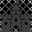 Castle Building Medieval Icon