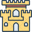 Castle Chateau Mansion Icon
