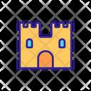 Viking Medieval Castle Icon
