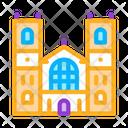 Castle Facade England Icon