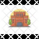 Castle Fortress Citadel Icon