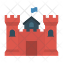 Castle Fortress Medieval Icon