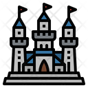 Castle Fortress Amusement Icon