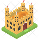 Castle Medieval Fortification Icon