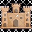 Castle Historical Place Medieval Castle Icon