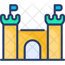 Castle Tower Fortress Icon