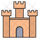 Castle Historical Building Icon