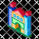 Castle Amusement Park Icon